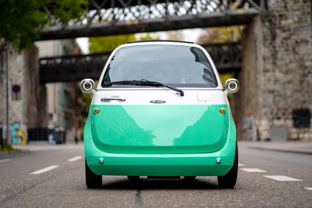 Microlino vehicles will be built in Westphalia starting in 2019